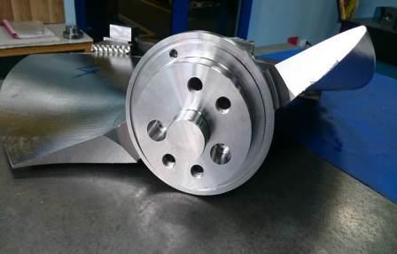 Vysoce jakostní odlitky z ušlechtilých ocelí pro výrobce vodních turbín