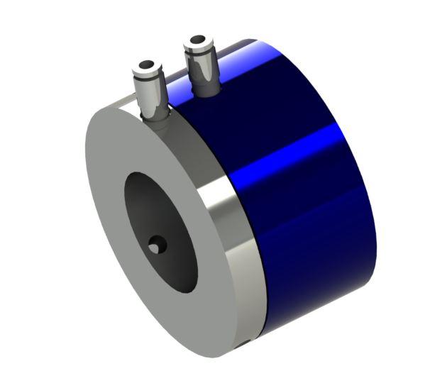 Mehrwege-Drehdurchführung für Pneumatik mit durchgehenden Wellen Produkteigenschaften: universell einsetzbar – spannen/l