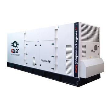 Groupe électrogène de diesel 990kVA : Ce groupe électrogène industrielest équipé d'un disjoncteur magnéto-thermique 4