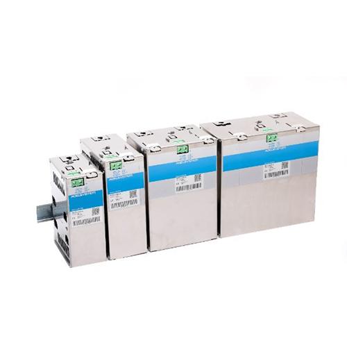 """Zusammenfassung Die """"Kleine VRLA Batteriebank"""" Serie enthält eine effiziente und zur Installation bereite Lösung wo Batt"""