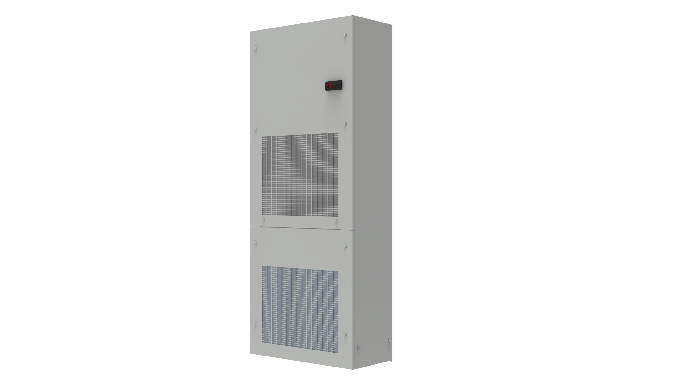 Le unità Module sono la migliore soluzione tecnica ed economica per il raffreddamento di lunghe file di armadi elettrici