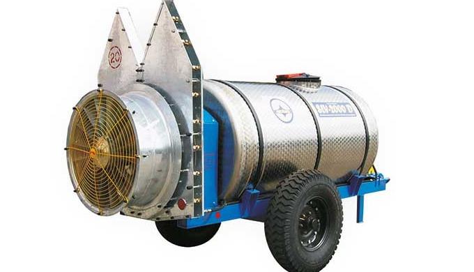 Caracteristici distinctive: • ansamblul de ventilaţie-pulverizare conţine un canal suplimentar pentru refularea aerului
