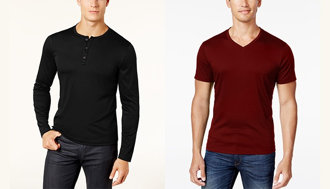T-Shirts for Men - Buy Men's T-Shirts based on fabric, color, fit, size, neck, and occasion from Karmatex Apparels one o