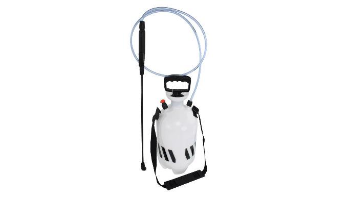 Pulvérisateur à pression préalable Écopro Sprayer 7 L pour de multiples applications, livré avec 3 buses de pulvérisatio
