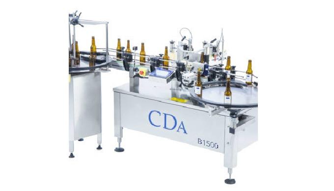 Conçues par la société CDA, l'étiqueteuse automatique B 1500 permet l'étiquetage de vos bouteilles de bière. Elles peuve
