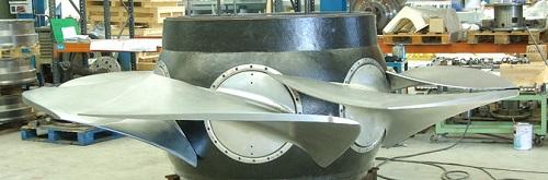 Las grande multinacionales del sector hidroeléctrico confían en nosotros para fabricar turbinas y ruedas pelton para cua