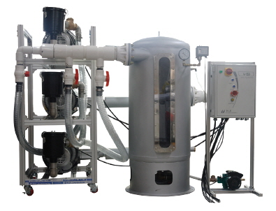Dental vacuum pump