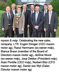 maxon motor expands its global network.
