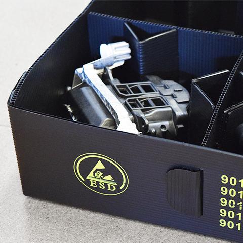 Embalajes conductivos y antiestáticos