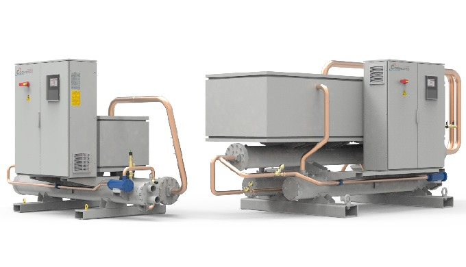 WSW are chillers for indoor installation in idustrial and process applications, specifically designed to have high perfo