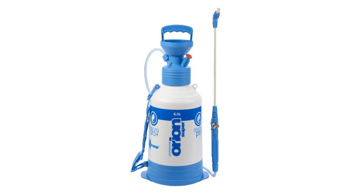 • Capacité : 6 litres • Joints « Viton » : résistants aux produits acides • Lance de 40 cm avec indicateur de pression •