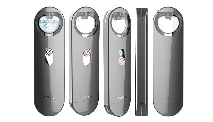 It is a beauty device that uses ultrasonic wave element to manage hydrogen skin as the smallest particle since it is equ
