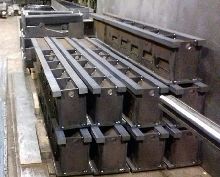 producción de piezas de calderería media y ligera. Corte láser de chapas de un espesor máximo de 20 mm y dimensiones 60