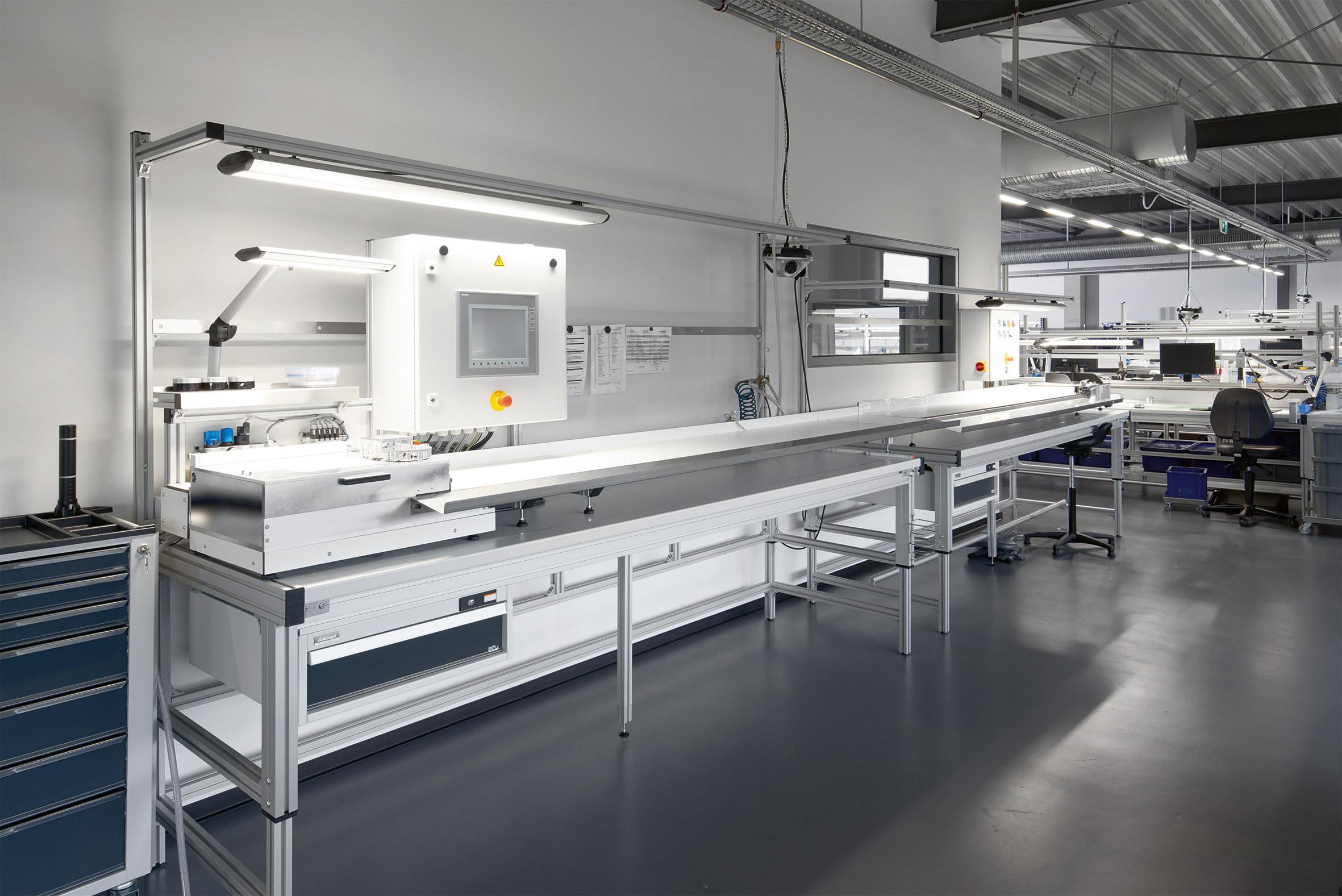 Medizintechnikunternehmen setzt auf Lichtlösungen von Waldmann