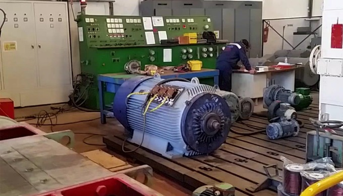 Nous assurons l'entretien et rebobinage des moteurs BT/MT alternatifs et à courant continue Rebobinage des transformate