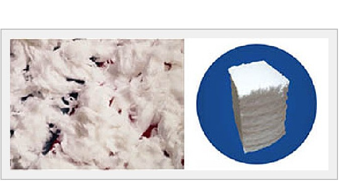 Bleached Cotton Be friendly with environment.(Hydrogen peroxide is used in the bleaching) Ultra - White color, Excellent