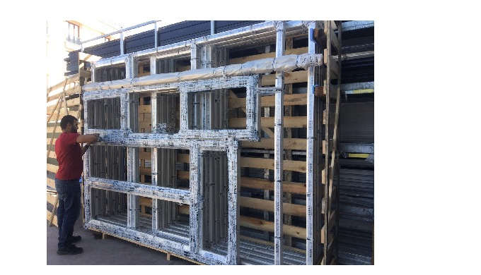 Windows and doors are producing as aluminium or pvc according to the technical details of our customers orders.  Product