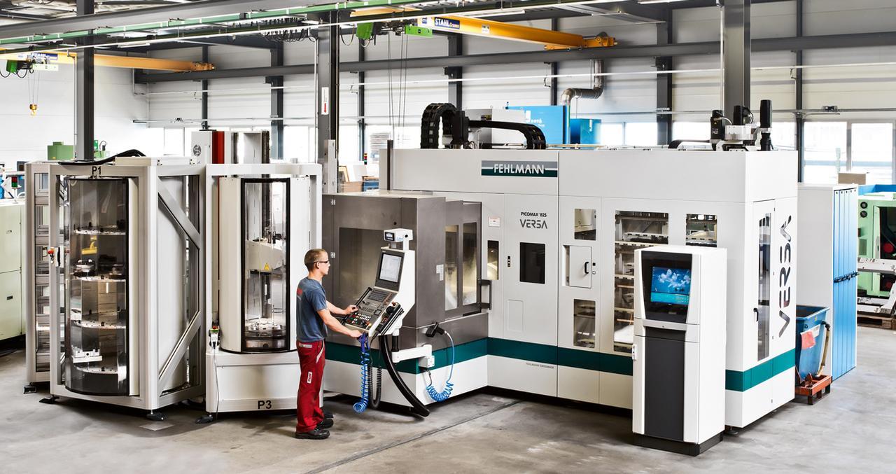 Die Spezialisten von Meag bearbeiten auch Schwergewichte von bis zu acht Tonnen mit Dimensionen bis zu L 9200 mm, H 2800
