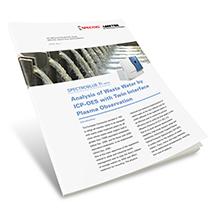 Applikationsbericht: Analyse von Abwasser mittels ICP-OES mit Twin-Interface Plasmabetrachtung