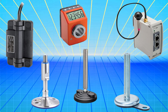 Standard machine elements from Elesa on show at MACH Exhibition, 9th - 13th April 2018