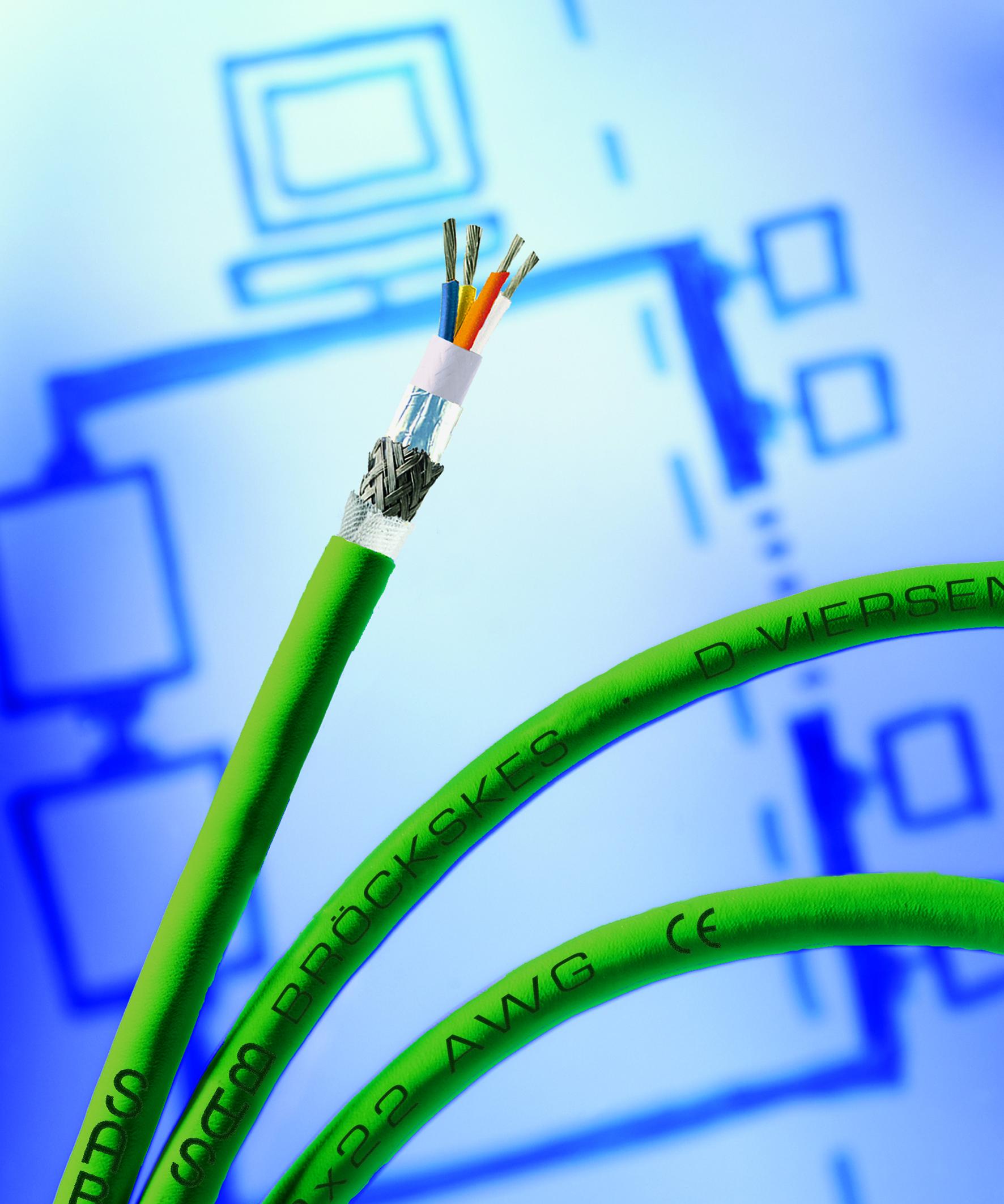 CAT 7 und CAT 7A Kabel für industrielle Anwendungen