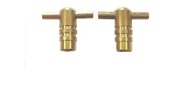 Brass Radiator key Tommy Bar Type & Clock Type