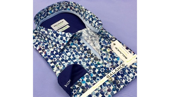 Digital printed men's shirts