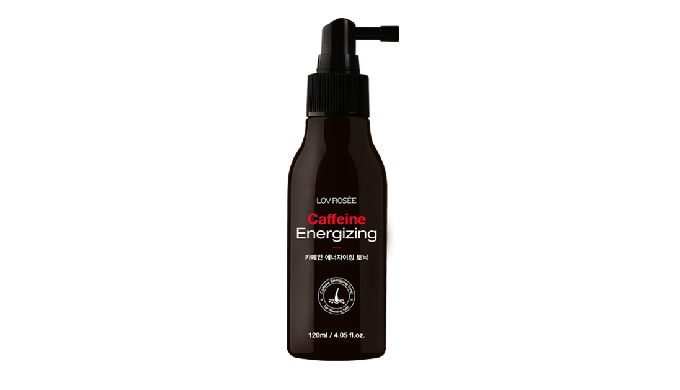 Powerful caffeine energy that provides nutrition to scalp and  hair roots to make your hair look healthier