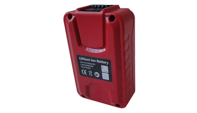 Batterie Lithium-ion 18 V pour pulvérisateurs Pro Sprayer II, Dual Sprayer et Dorsal Sprayer. Autonomie de travail de 1h