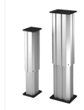 The LP2 range of vertical lifting columns is ideal where vertical positioning of substantial loads is required. The desi