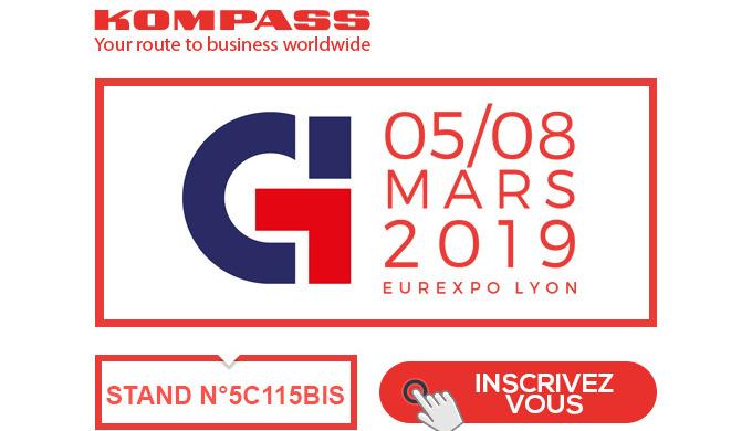 Kompass est présent sur le salon Global Industrie 2019
