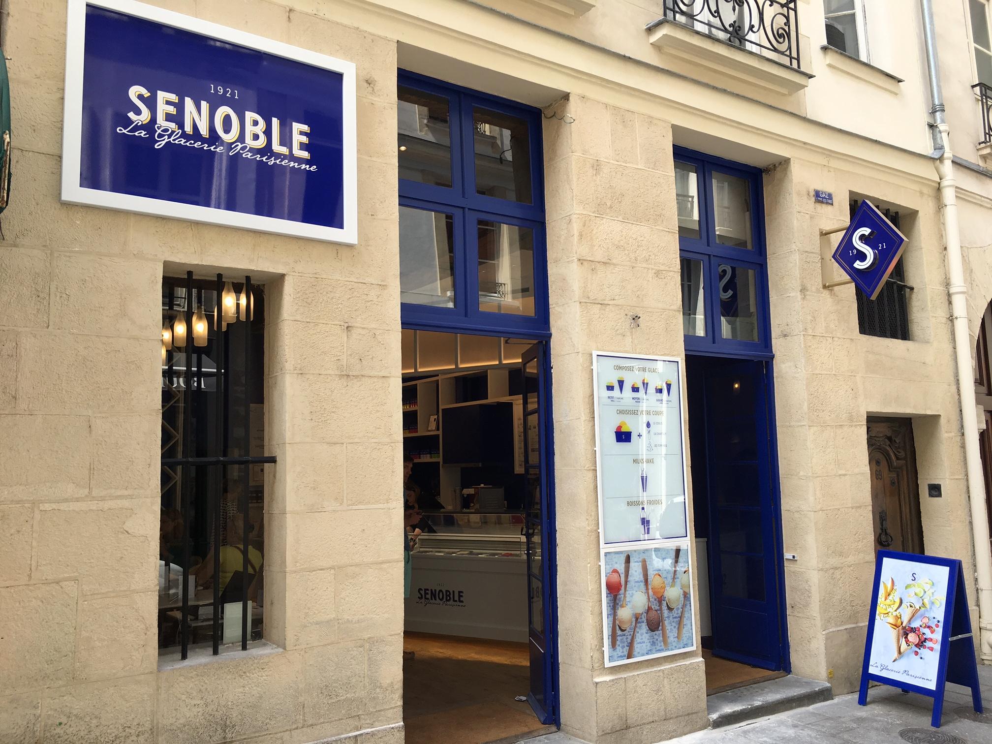 Senoble ouvre sa 2ème boutique au cœur de Paris sur l'Ïle Saint Louis