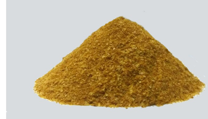 Corn DDGS (Distiller's Dried Grains with Soluble) is the dried residue remaining after the starch fraction of maize (Cor