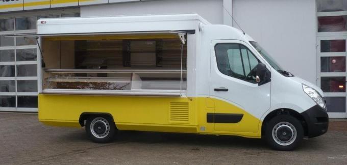 Pojízdná prodejna pekařské výrobky 3290E Renault Exclusive