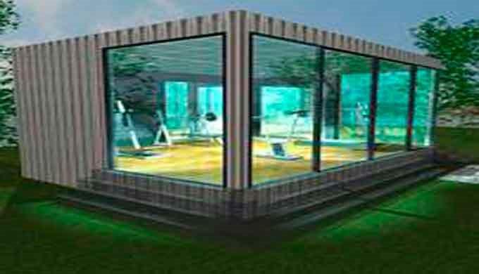 Expertos en construcción modular prefabricada&#x3b; Gimnasios metálicos transportables, se adaptan a cualquier espacio con a