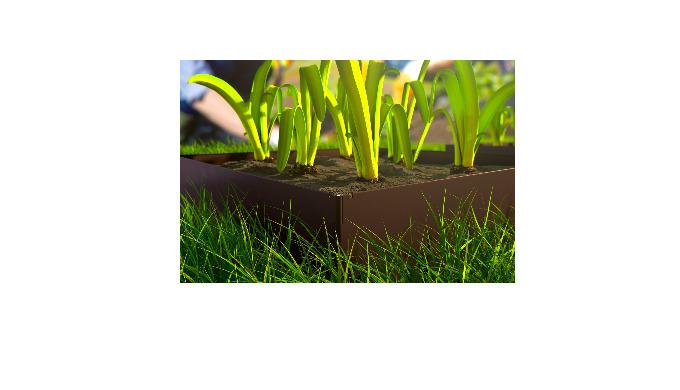 Ogródek warzywny Hornval O3. Rabata warzywna. Rabata kwiatowa