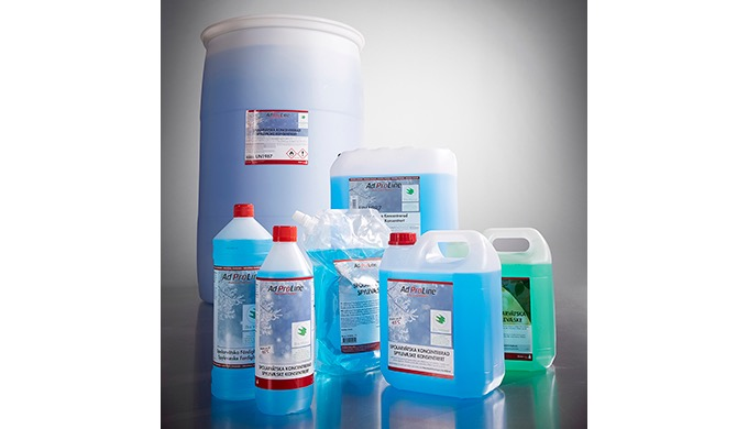 Miljömärkt enligt Bra Miljöval! AdProLine® Spolarvätska Koncentrerad är miljömärkt av Naturskyddsföreningen. Produkter m