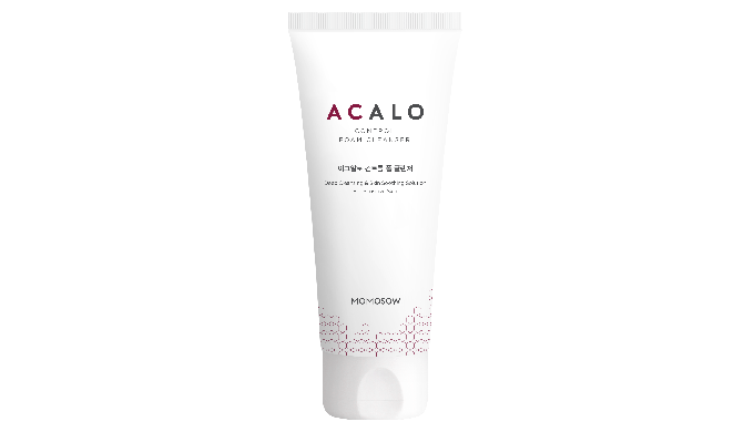 ACALO Control Foam Cleanser cleanses away the bodily waste and keeps the skin healthy. Relieve the acne skin Skin-soothi