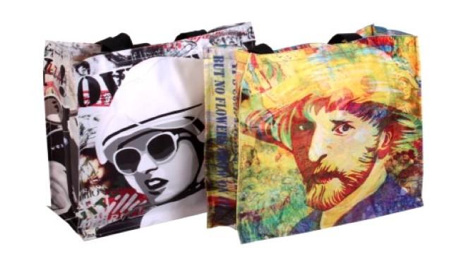 % 100 Natural Canvas Bag