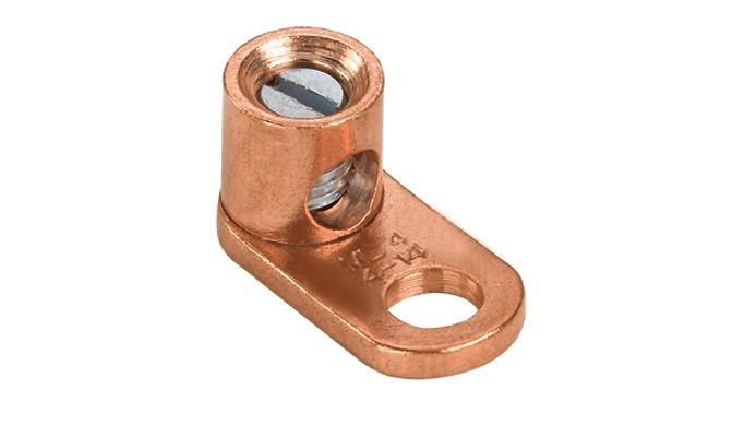 Copper Screw-Terminal Grounding Lug