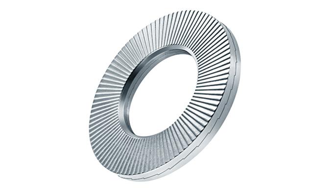 Die HEICO-LOCK® HLK-Scheiben bieten eine hochwertige Schraubensicherung für HV-Garnituren nach DIN EN 14399-4 und DIN EN