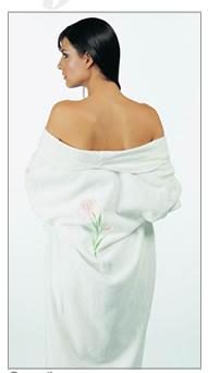women bathrobe