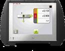 Paketen Fixturlaser NXA Geometry Basic och Full innehåller följande programvara: Rakhetsmätning med standardmetodenför