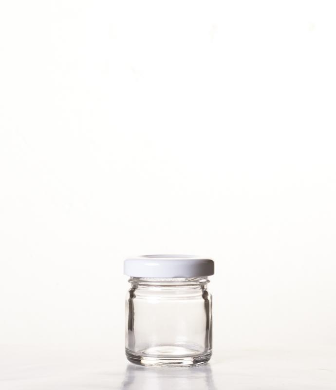 Vasi invetro con imboccatura twist per tutte le esigenze di conservazione, formati monodose 40 ml, 106 ml, 156 ml, 212