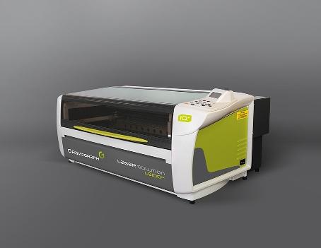 Máquina de marcaje láser por fibra pulsada con un área de marcaje muy amplia (610 x 305 mm) es ideal para marcar piezas