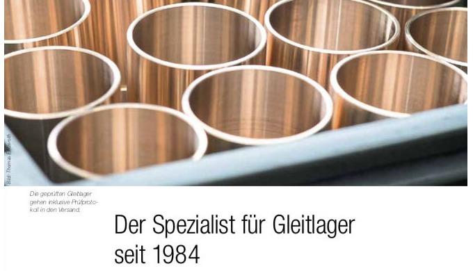 """Fachbericht im """"Schweizer Maschinenmarkt"""" SMM"""