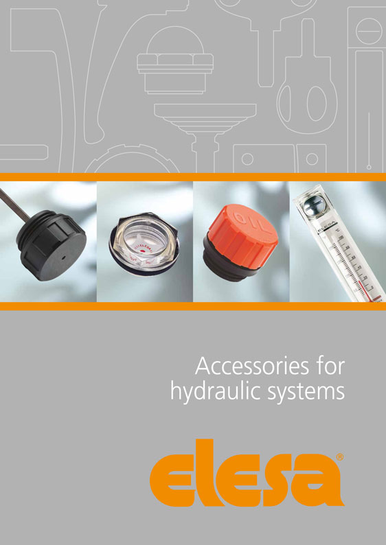 Accessories for hydraulic systems – a comprehensive catalogue from Elesa