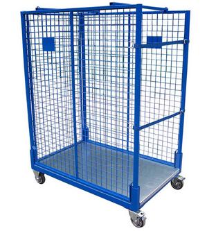"""Mobile Ladungsträger Ein Lagergestell, das """"lagert"""" und gleichzeitig Waren innerhalb Ihres Betriebs transportieren kann,"""