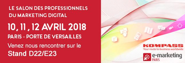 Invites you to visit the digital marketing professionals Porte de Versailles