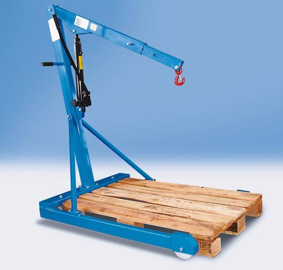 Tragfähigkeit 500 kg, Fahrgestell parallelMit doppelt wirkender Hydraulik-Pumpe (Pumphebel in beiden Richtungen wirkend